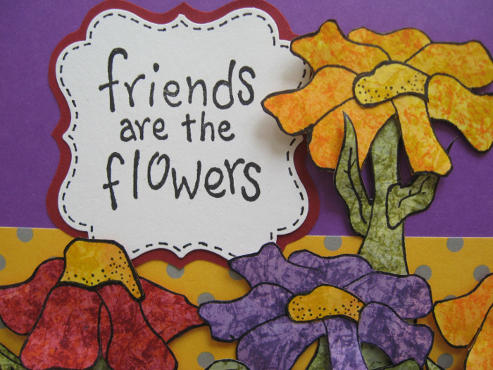 Karen Sessions - Funky Flower Stamps - July 29 - 15