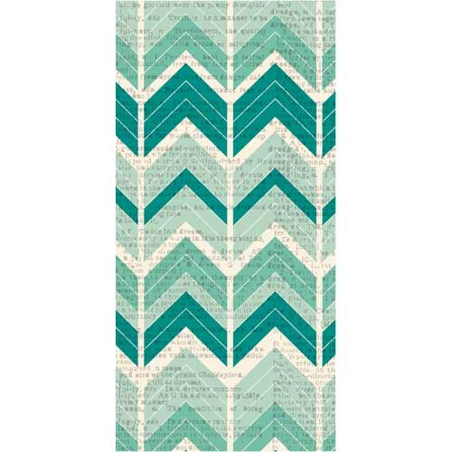 Hazel & Ruby Wrap it Up - Crazy For Chevy Teals [PR387] - SHIPS SEPARATELY