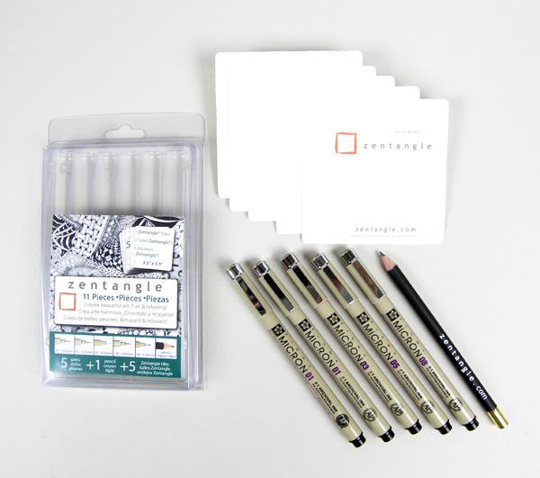 Micron Pigma Pen Zentangle Set - 11 Piece [50011] - Image 2