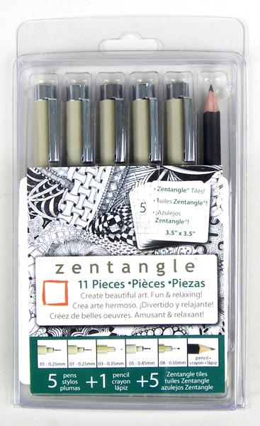 Micron Pigma Pen Zentangle Set - 11 Piece [50011]