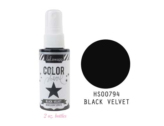 Heidi Swapp Color Shine - Black Velvet