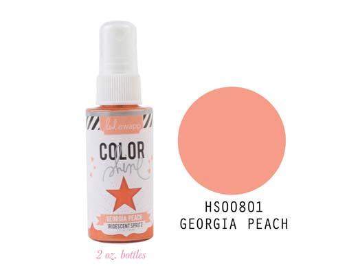 Heidi Swapp Color Shine - Georgia Peach