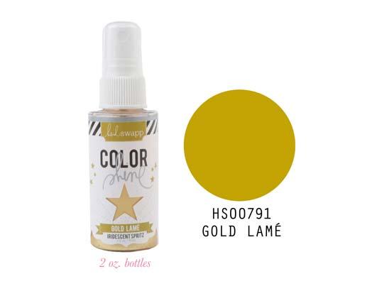 Heidi Swapp Color Shine - Gold Lame