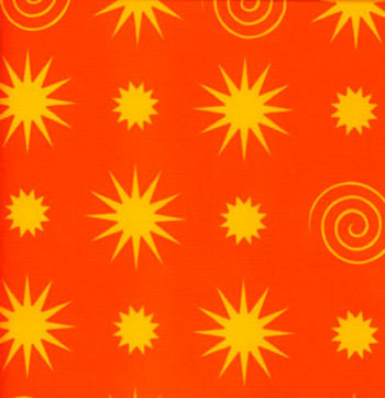Jane's Hothouse Gardens - [JS09] Starry Night, Orange