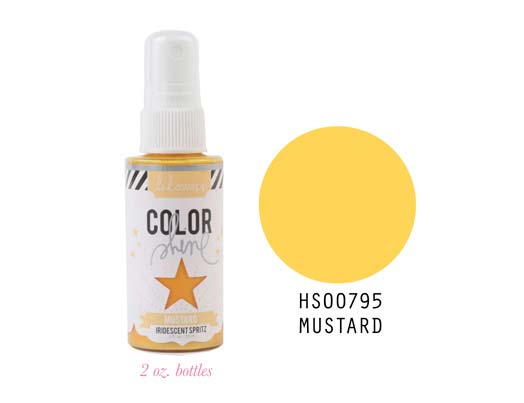 Heidi Swapp Color Shine - Mustard