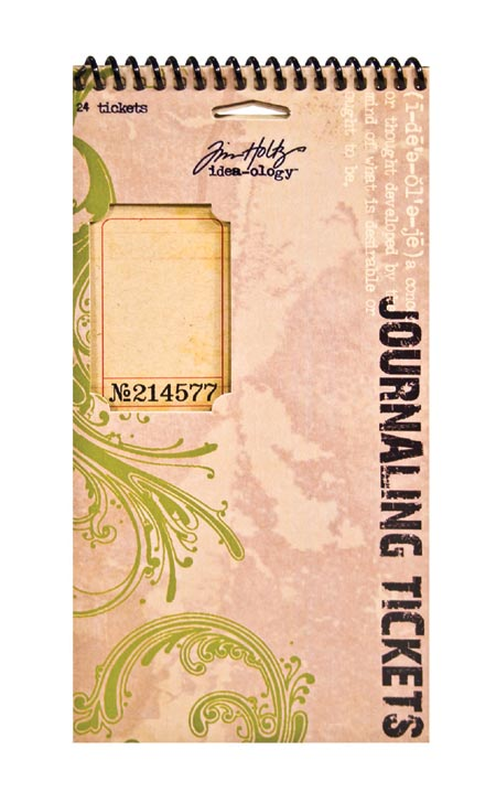 Idea-ology by Tim Holtz - [TH92732] Journaling Tickets
