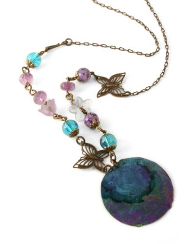 Vintaj Natural Brass Co. - [C4H40R] Filigree Butterflies - Image 3