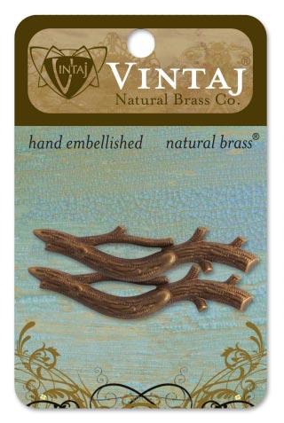 Vintaj Natural Brass Co. - [EM0070R] Branch Set