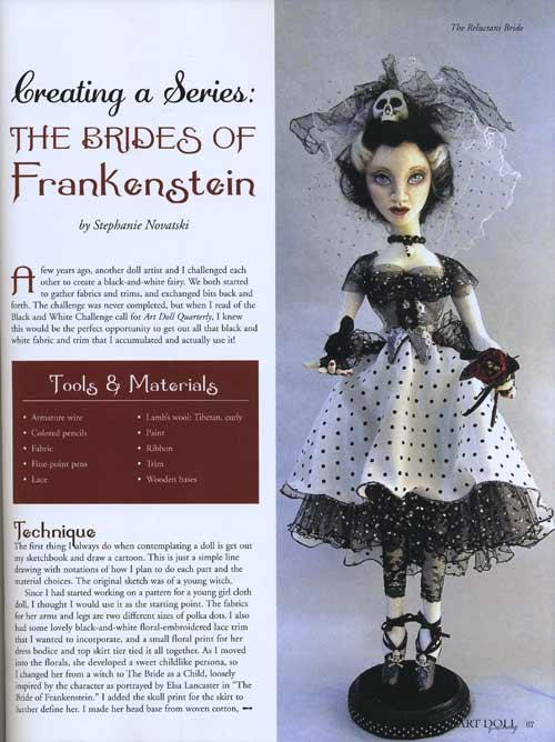 Art Doll Quarterly - August/September/October  2015 - Image 3