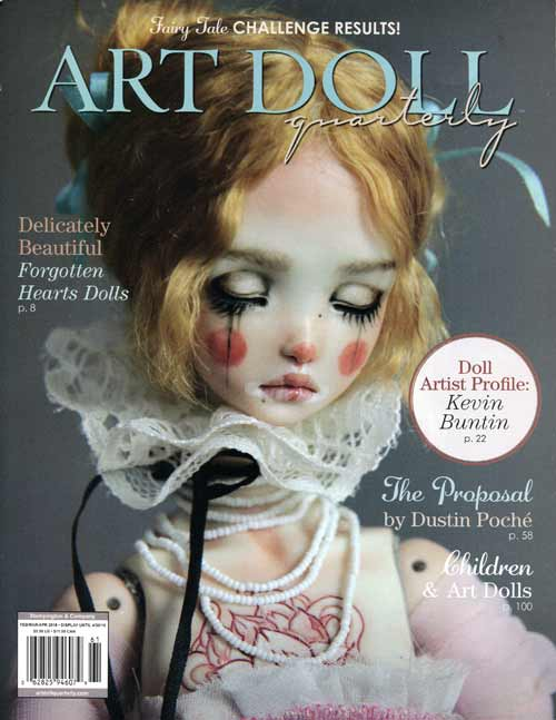 Art Doll Quarterly - February/March/April 2016