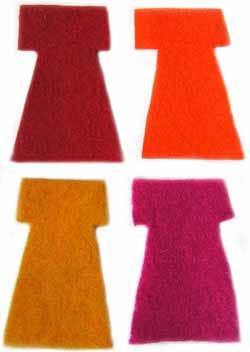 Artgirlz - Wool Felt Dresses - Warm