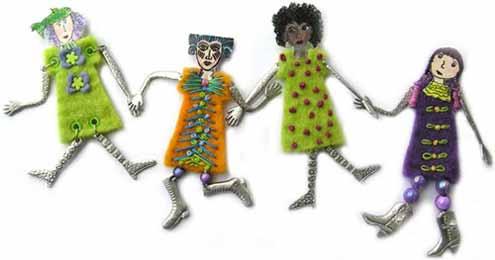 Artgirlz - Wool Felt Dresses - Warm - Image 2