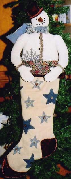 BH - Snowman Stocking