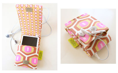 Amy Butler Patterns - Laptop Cover & MP3 Case - Image 3