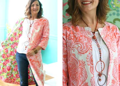 Free pattern how to make a coat from felted vintage