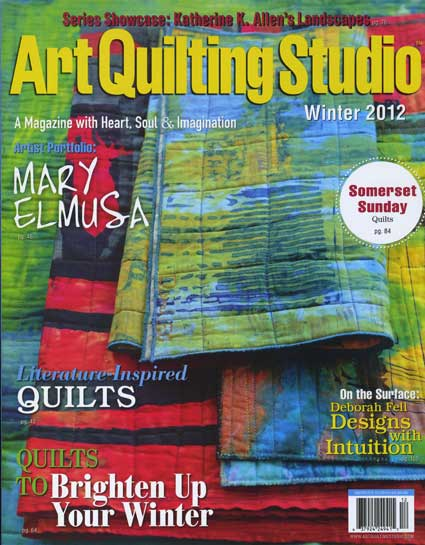Art Quilting Studio - Winter, 2012 - ON SALE!
