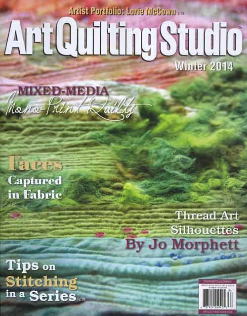 Art Quilting Studio - Winter 2014