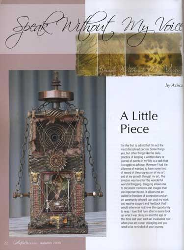 Artful Blogging - Autumn 2008 - ON SALE! - Image 2