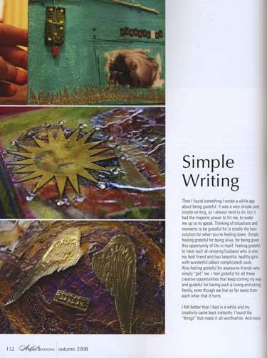 Artful Blogging - Autumn 2008 - ON SALE! - Image 5