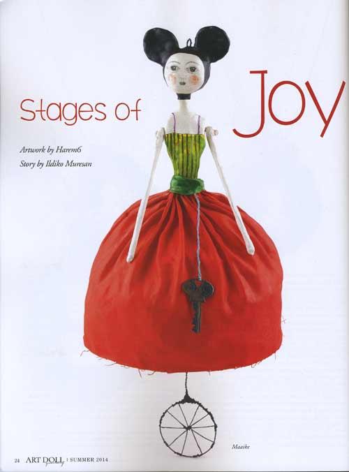 Art Doll Quarterly - May/June/July 2014 - Image 2