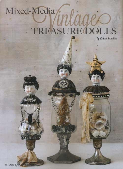 Art Doll Quarterly - May/June/July 2014 - Image 4