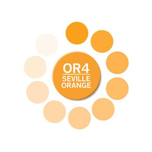 Chameleon Color Tone Marker Pen - Seville Orange