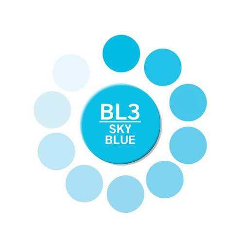 Chameleon Color Tone Marker Pen - Sky Blue