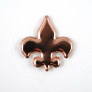 CIP Paper Fastener - Fleur de Lis - Copper [94006B]
