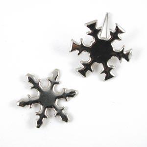 CIP Paper Fastener - Snowflake - Silver [92007BS]