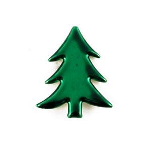 CIP Paper Fastener - Christmas Tree - Metallic Green [90641BMG]