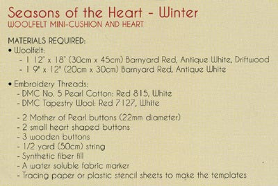 The Cinnamon Patch - Seasons of the Heart: Winter [CPA032] - Image 3