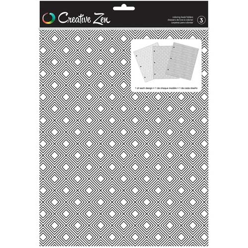 Creative Zen Coloring Folders - Geometric [375668]