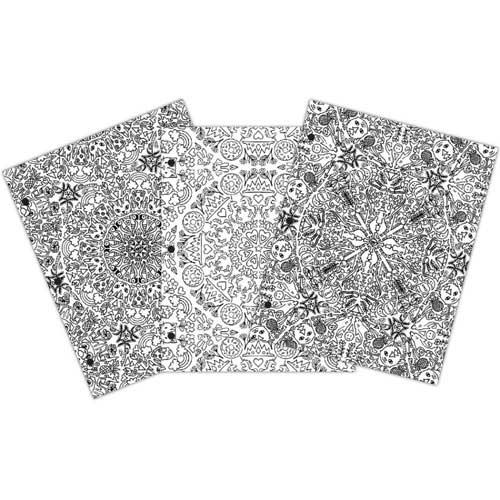 Creative Zen Coloring Folders - Kaleidoscope [375669] - Image 2