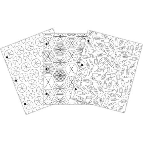 Creative Zen Coloring Folders - Summer [375671] - Image 2