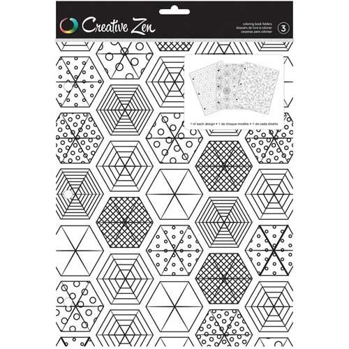 Creative Zen Coloring Folders - Summer [375671]