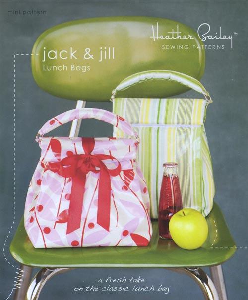 Heather Bailey - Jack & Jill Lunch Bags Mini Pattern