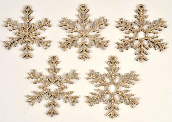 Joggles Laser Cut Snowflakes - Set of 10 - Image 2