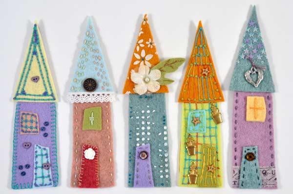 Joggles Wonky Wool Felt House #1 - Colorway C [56859] - Image 2