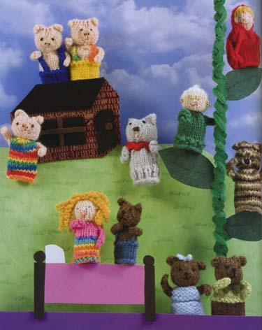 Free Barnyard Finger Puppets Knitting Pattern Very Simple Free