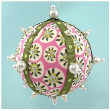 La Todera - Fabric Ornament Bling Balls [LAT009]
