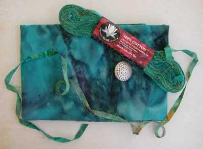 Princess Mirah Design - Little Knit Purse Kit - Peacock - Image 2