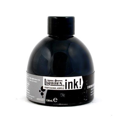 Liquitex Professional Acrylic Ink! - Carbon Black [337] (Large - 150ml)