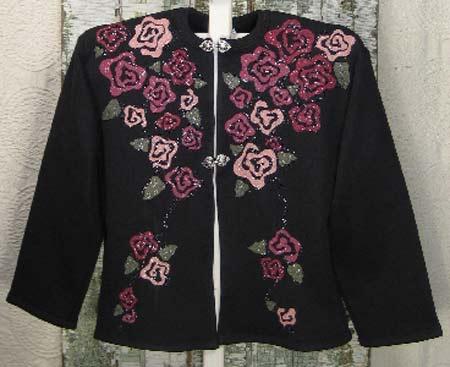 ABC Knitting Patterns - One-Skein Cropped Raglan Cardigan.
