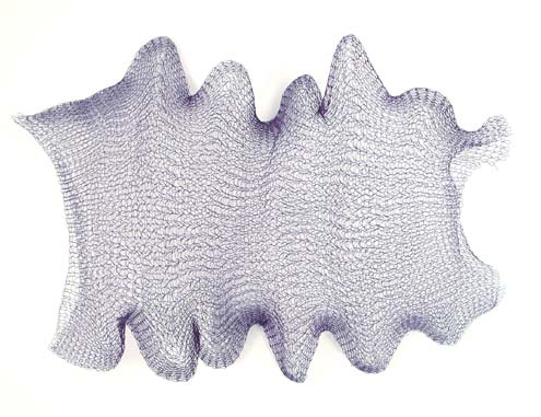 Knitted Metal Mesh by the Yard - [3001] Navy