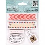 Papermania Urban Stamps - Air Mail [907176]