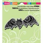 Stampendous Cling Rubber Stamps - PenPattern Bat [CRN259]