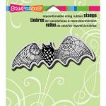 Stampendous Cling Rubber Stamps - Doodle Bat [CRN260]