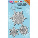 Stampendous Cling Rubber Stamps - Delicate Snow Set [CRS5069]