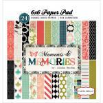 """Carta Bella 6"""" x 6"""" Paper Pad - Moments & Memories [MM31015]"""