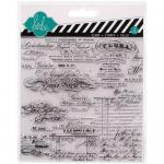 Heidi Swapp Mixed Media Clear Stamps - Script [1140]